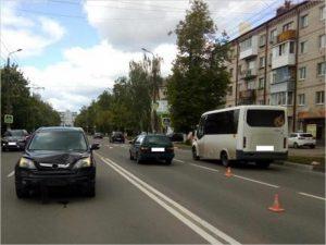 В Брянске женщина погибла на пешеходном переходе