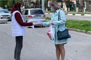 Дятьковские молодогвардейцы бесплатно раздадут 4000 медицинских масок