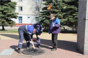 Брянские газовики завершили техобслуживание Вечных огней