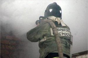 В карачевской Трыковке сгорел жилой дом. Жертв нет