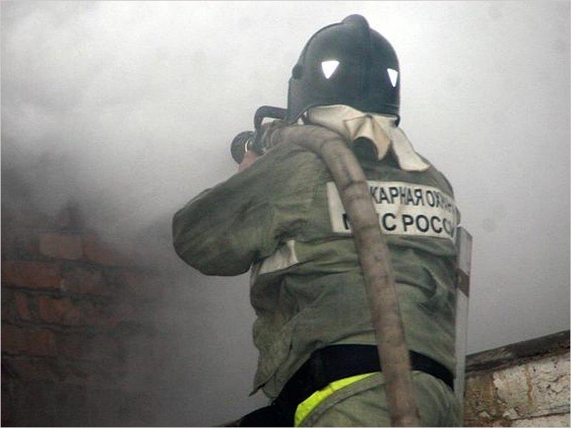 В городе Фокино выгорела квартира в многоэтажке