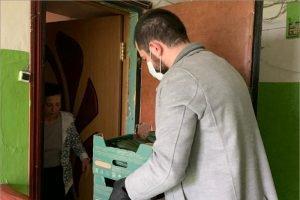 Николай Валуев передал около 2,5 тонн продуктов брянским многодетным и малообеспеченным семьям