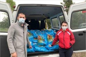 Николай Валуев передал «Мухе» 800 килограммов сухого корма