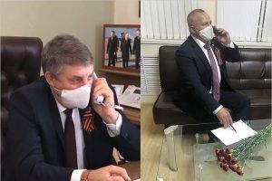 Брянские VIP'ы поздравляли ветеранов войны в День Победы по телефону