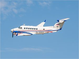 Самолёт-облётчик аэродромных систем проверил аэропорт «Брянск»
