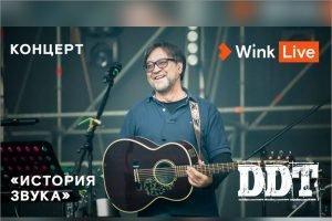 Концерт группы «ДДТ» и Юрия Шевчука — эксклюзивно на Wink и more.tv