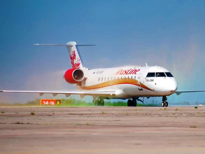 Авиакомпания «Руслайн» начала летать из Брянска в Екатеринбург