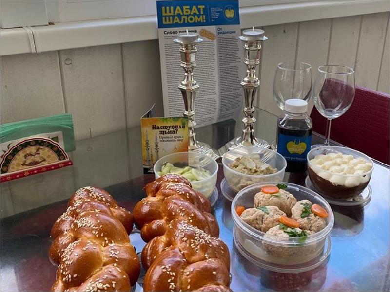 Брянская иудейская община продолжила проект антикоронавирусных шабатных наборов