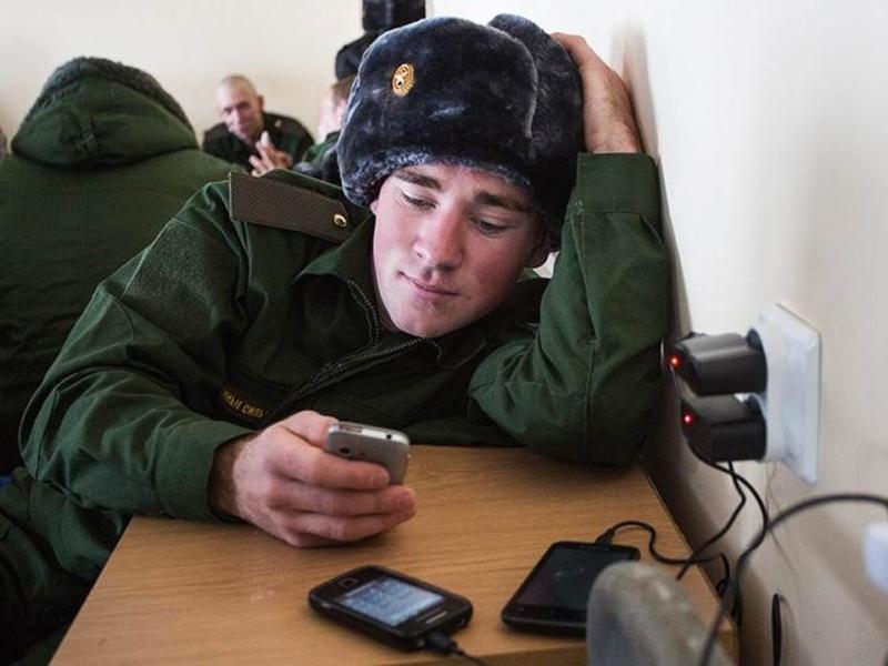 Российским военным запретили рассказывать о себе в Интернете