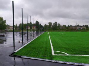 Искусственные газоны монтируются на стадионах в Добруни и Унече