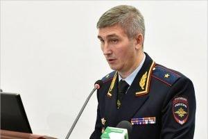 Главный полицейский Брянской области Владислав Толкунов отмечает 45-летие
