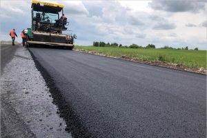 В Жирятинском районе обновляется дорога, которая не ремонтировалась 30 лет