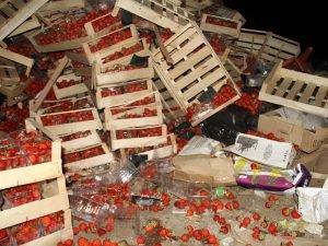 В Новозыбкове уничтожили две тонны подозрительной клубники