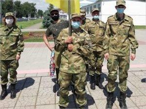 Брянские поисковики заступили на Вахту Памяти на «Калужский рубеж»