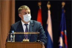 Медиарейтинг губернатора Александра Богомаза остаётся в седьмом десятке