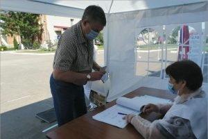 Брянский губернатор проголосовал по поправкам в Конституцию в родном Меленске