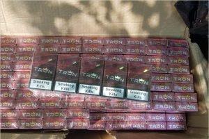 Пограничники нашли в Брянской области тысячи пачек турецких сигарет