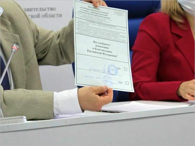 На голосовании по поправкам в Конституцию в Брянской области будет работать 1087 участков