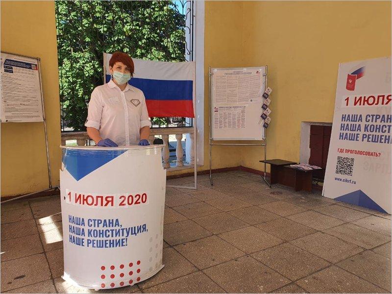 В России в четверг стартовало голосование по поправкам в Конституцию