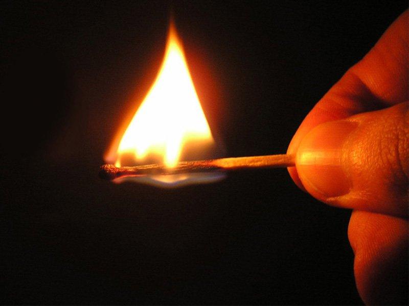 Треть пожаров в Брянске в прошлом году произошло из-за поджогов