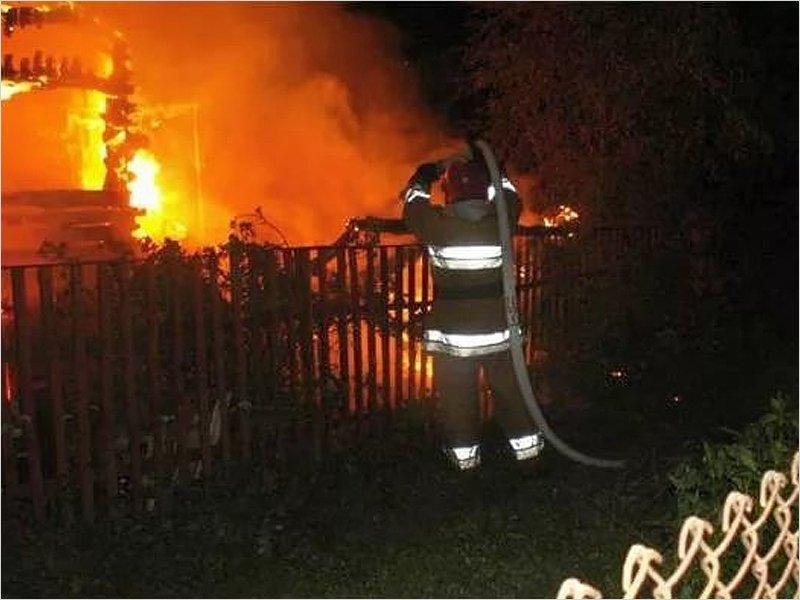 В стародубском селе сгорел дом. Жертв нет