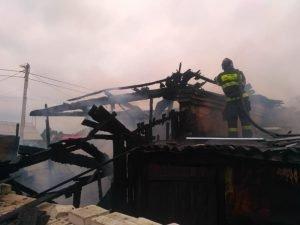 В Большом Полпино в воскресенье сгорел жилой дом