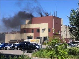 В Брянске  горел гипермаркет «Калита-град». Обошлось эвакуацией покупателей