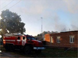 В стародубском селе сгорел жилой дом. Жертв нет