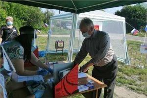 Стародуб: активно голосуют люди пожилого возраста