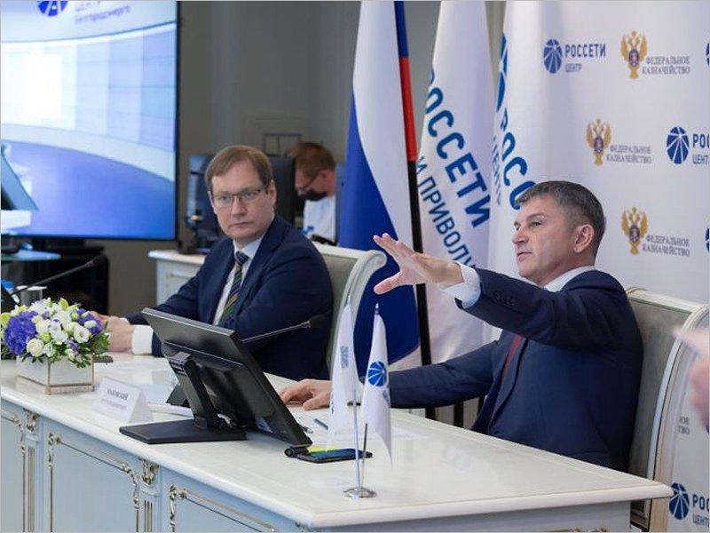Руководители федерального казначейства и компании «Россети Центр» обсудили сотрудничество в сфере цифровизации и социальной работы