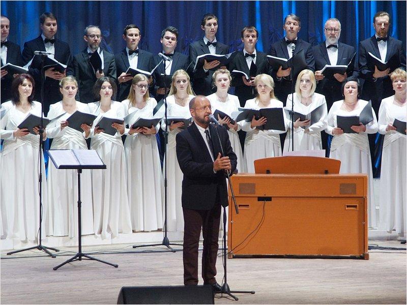 Брянский академический хор под управлением Марио Бустилло отмечает 25-летие
