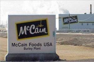 Канадская компания McCain будет строить в России завод по производству картофеля фри — в Брянске. Или в Туле