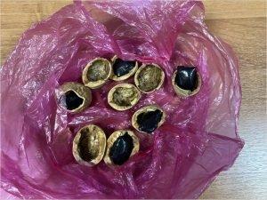В Брянске полицейские изъяли «заряженные» орехи