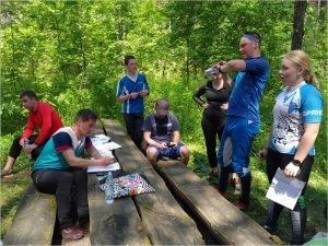В Брянске прошёл этап соревнований по спортивному ориентированию «Зелёный стадион»