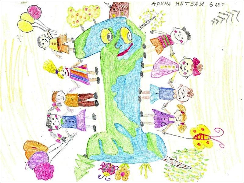 Дети сотрудников агрохолдинга «Мираторг» нарисовали то, что объединяет людей