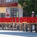 В центре Брянска разъезжала боевая техника: на проспекте Ленина прошла генеральная репетиция Марша Победы