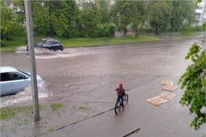 Май в Брянске стал самым дождливым за всю историю наблюдений