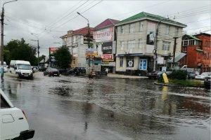 Ночной дождь 23 июня стал в Брянске третьим по силе за всю историю наблюдений