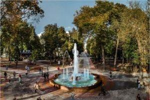 Итоги благоустройства «Круглого сквера»: сквер отремонтирован, чиновники оштрафованы