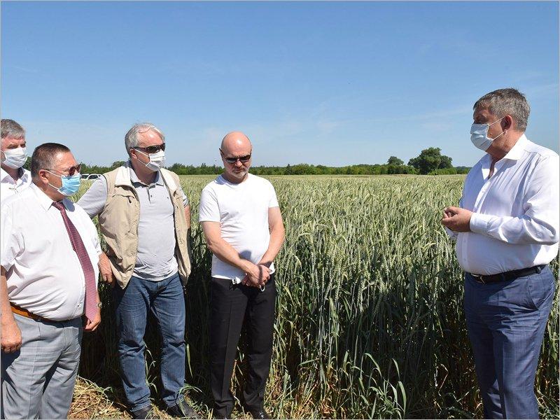 Брянский губернатор провёл в Погарском районе семинар для  сельхозпроизводителей и депутатов