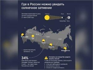 Кольцеобразное затмение Солнца будет видно в Брянске на 2%