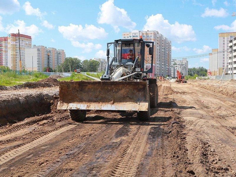В Брянске к новой школе №71 дотянут дорогу по улице Горбатова