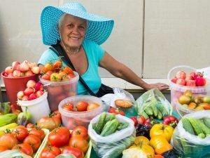 В Брянске открылись сезонные овощные базары