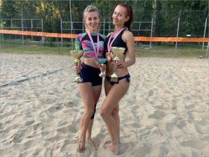 В Брянске прошёл первый посткоронавирусный турнир по пляжному волейболу
