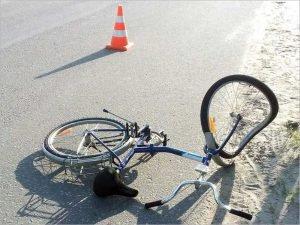 В Клетне под колёса иномарки попала 10-летняя девочка-велосипедистка