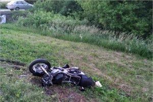 Полиция ищет свидетелей ДТП с погибшим на трассе под Брянском мотоциклистом 9 июля