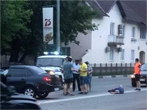 Пешеход-нарушитель угодил в Брянске под колёса. И в реанимацию в коме