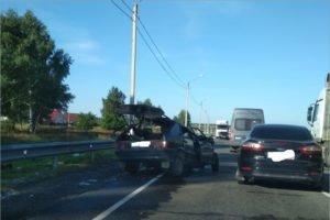 Смертельное ДТП под Выгоничами: в лобовом столкновении на месте погиб водитель