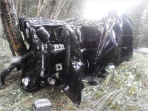 На дороге под Злынкой УАЗ врезался в деревья. Водитель погиб на месте