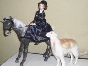 Брянский мастер Алла Кравченко представит выставку кукол онлайн
